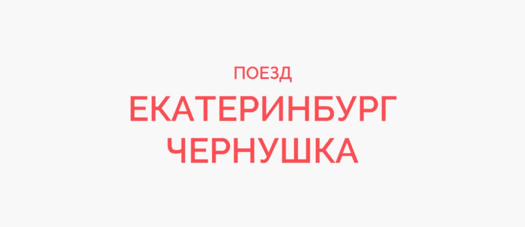 Поезд Екатеринбург - Чернушка
