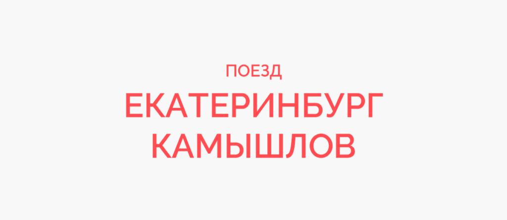 Поезд Екатеринбург - Камышлов