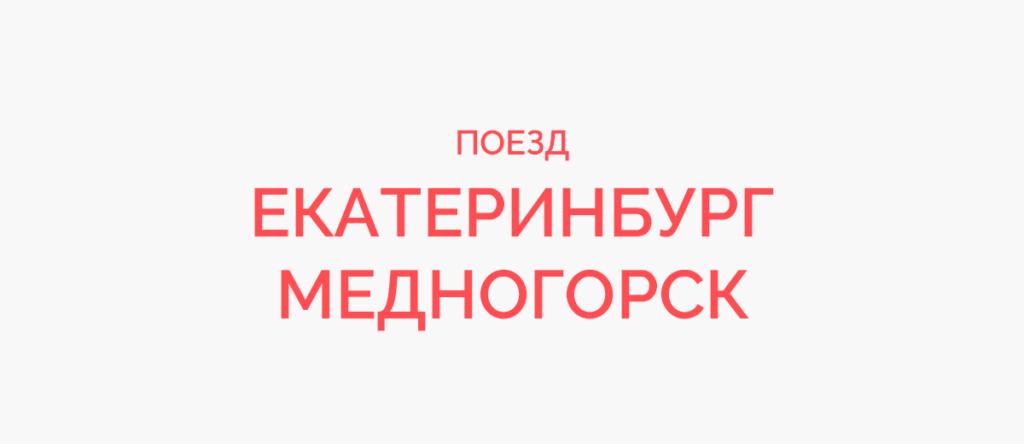 Поезд Екатеринбург - Медногорск