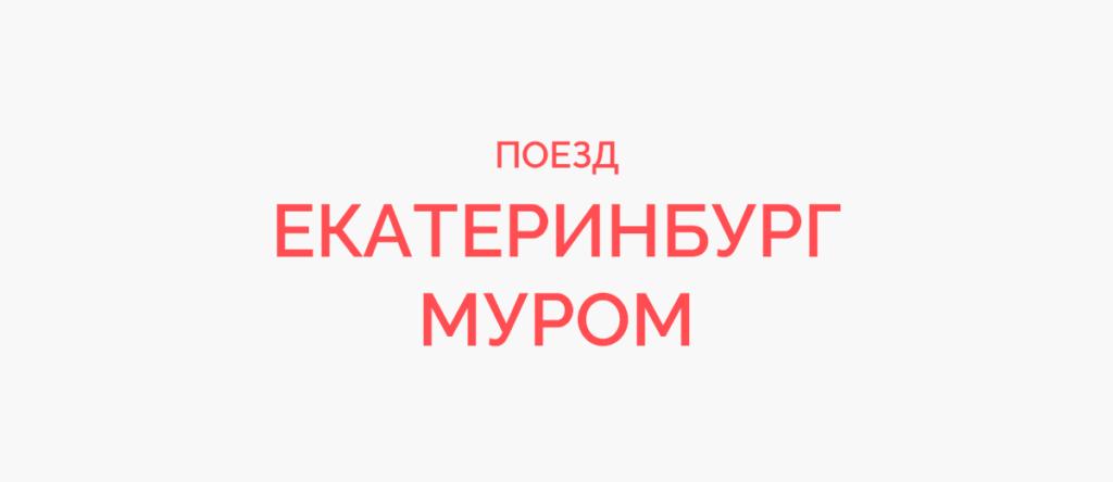 Поезд Екатеринбург - Муром