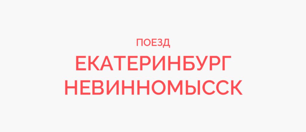 Поезд Екатеринбург - Невинномысск