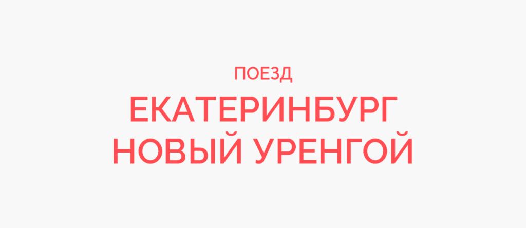 Поезд Екатеринбург - Новый Уренгой