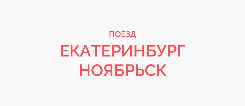 Поезд Екатеринбург - Ноябрьск