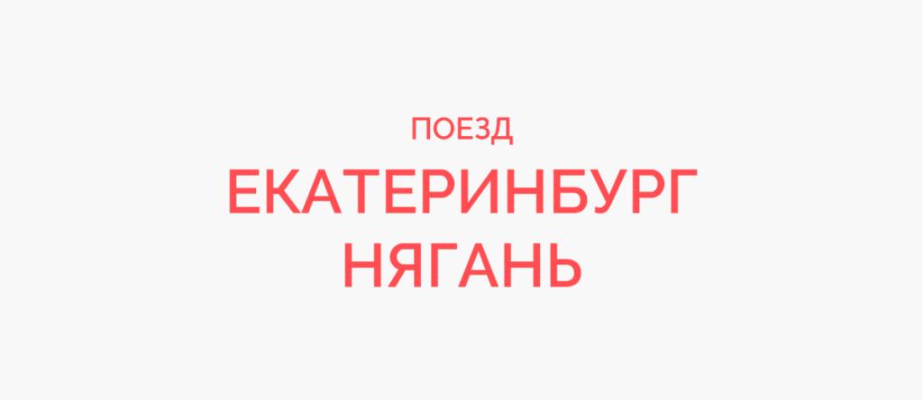 Поезд Екатеринбург - Нягань