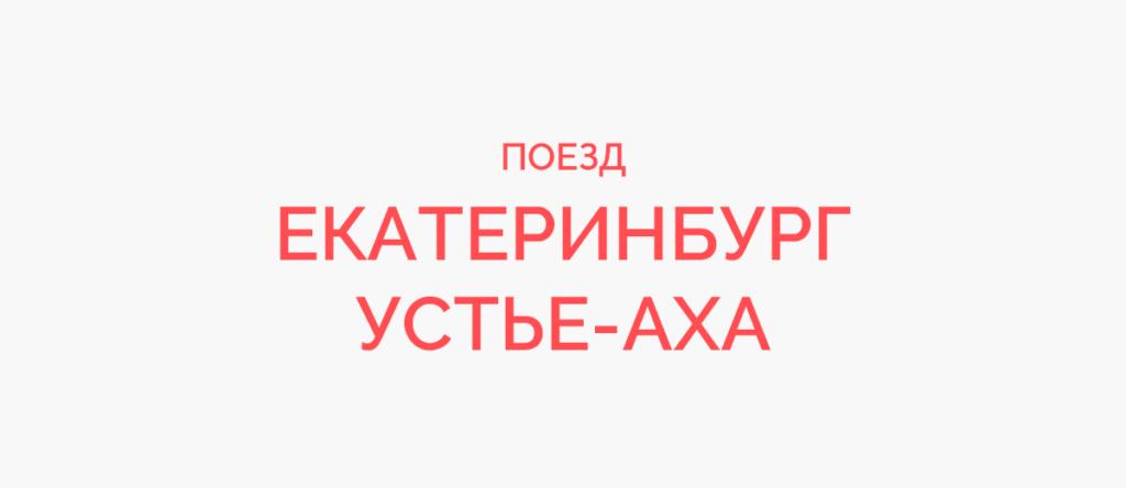 Поезд Екатеринбург - Устье-Аха