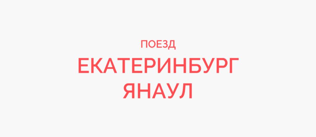 Поезд Екатеринбург - Янаул